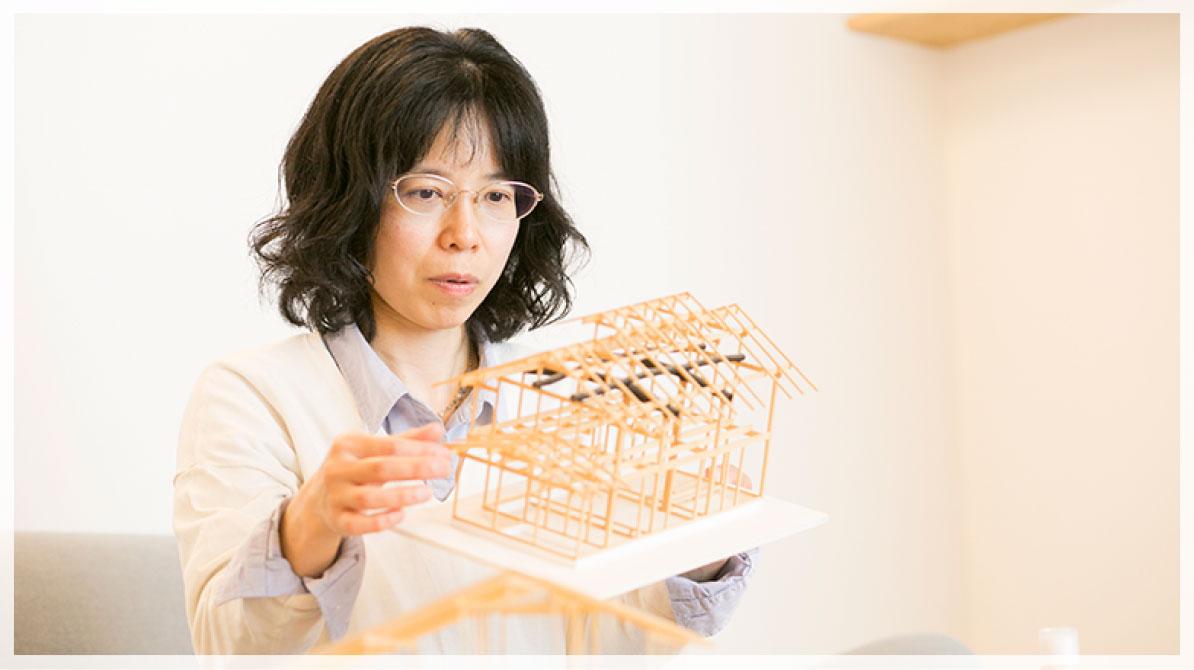 設計士/二級建築士 西澤亜矢子